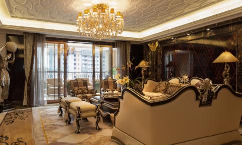 欧式大宅的奢华感 全套欧式效果图分享