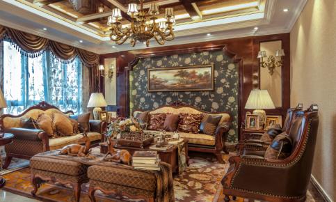 奢华美式别墅设计案例 奢华美式别墅效果图