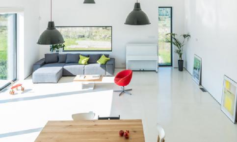 开放一体式的家居装修 开放式北欧公寓效果图分享