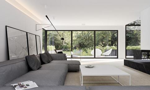 现代混搭别墅风情装修设计案例 现代混搭效果图欣赏