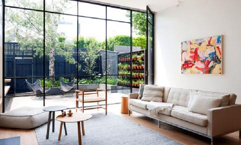 北欧玻璃院落装修设计案例 北欧玻璃院落效果图欣赏