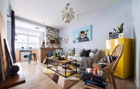 40平米老宅改造,小户型旧房变身文艺新家!