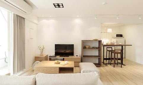 日式纯白原木家装设计 日式纯白原木效果图欣赏