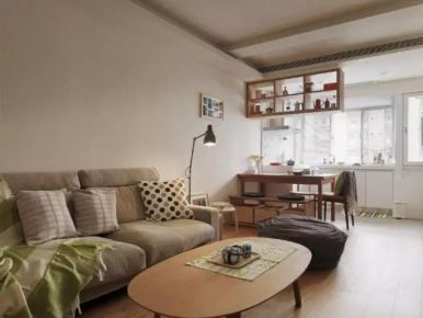43㎡MUJI公寓装修设计效果图