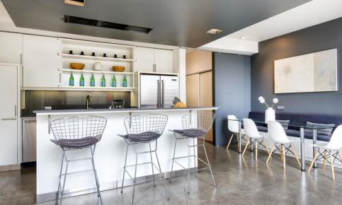 文艺复式公寓装修设计案例 文艺复式公寓效果图欣赏