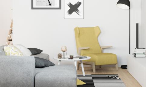 北欧清新公寓装修设计案例 北欧清新公寓效果图欣赏