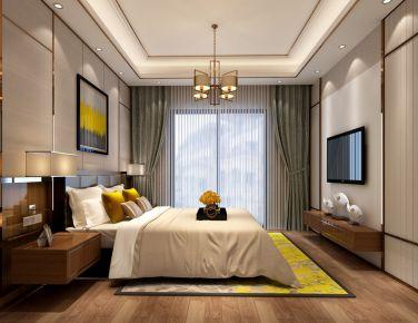 武汉新力帝泊湾 简欧风格家庭装修设计效果图