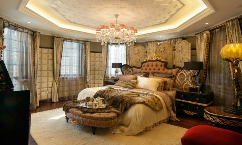 低调奢华有内涵的欧式风情装修案例 欧式风情效果图欣赏