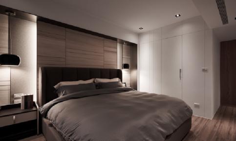 深色木质格调装修设计案例 深色调日式原木效果图分享