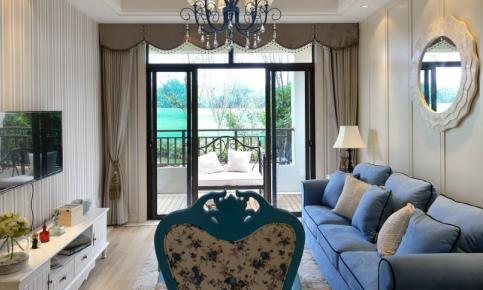 地中海两居装修设计案例 地中海两居效果图欣赏