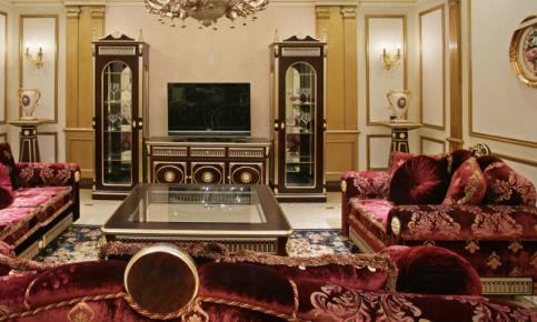 欧式的宫廷式设计 欧式风格效果图欣赏