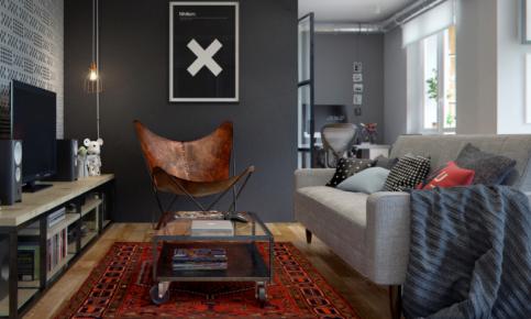 北欧单身公寓装修设计案例 北欧单身公寓效果图欣赏