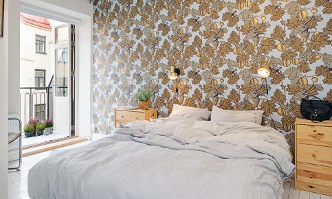 七彩北欧公寓装修设计案例 北欧七彩公寓效果图欣赏
