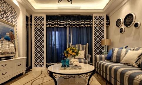 地中海温情公寓装修设计案例 地中海温情公寓效果图欣赏