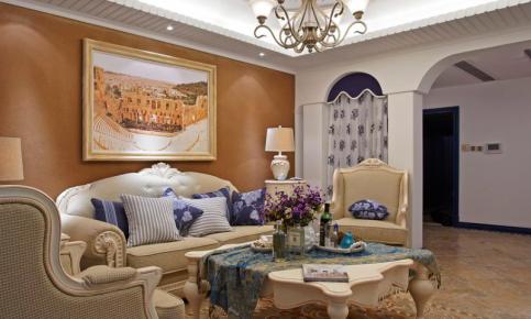 地中海风情家居装修设计案例 地中海风情效果图欣赏