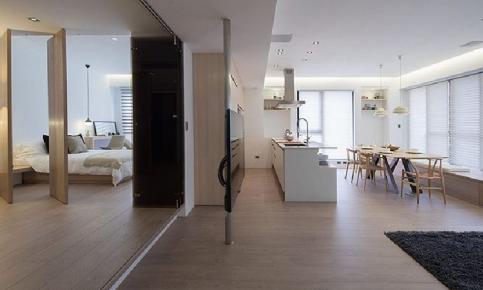 日式三居装修设计案例 日式三居效果图分享