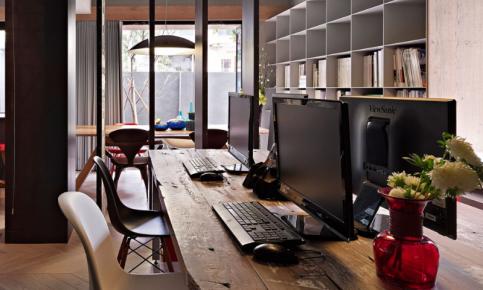 工作室兼居室的设计案例 工作室兼居室效果图分享