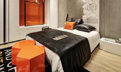 橙色打造的现代化风情家装设计案例 橙色风情家装效果图欣赏
