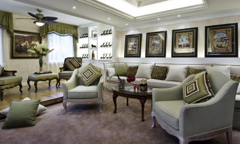 古典欧式风格装修设计案例 古典欧式风格效果图欣赏