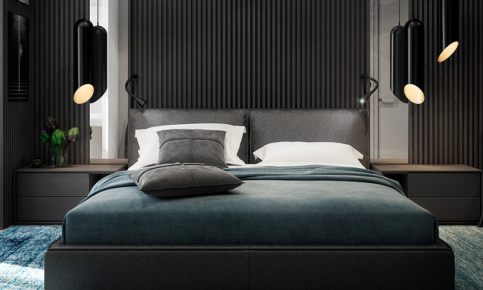 现代黑马风情室内设计 黑色打造的现代简约效果图分享