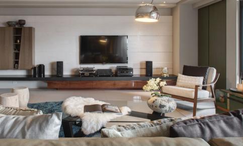具有强大收纳效果的日式风格家装设计案例 日式室内设计效果图