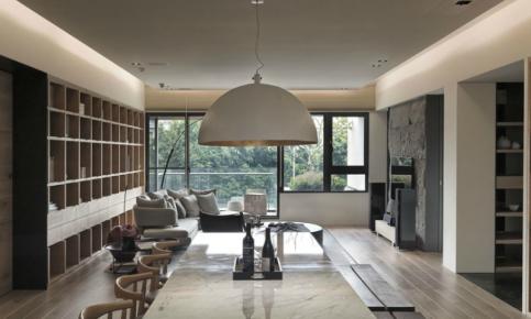 原木打造的日式风格家装设计 原木日式风格家装效果图赏析