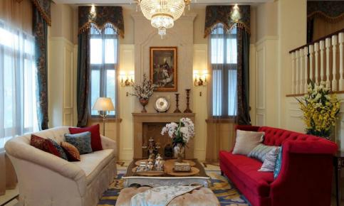 欧式风格别墅装修设计案例 欧式风格别墅效果图欣赏