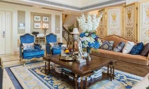 欧式新古典风格室内设计案例 欧式新古典风格效果图欣赏