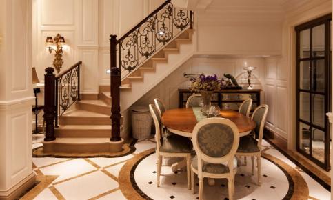 欧式装饰的别墅 欧式风格别墅装修设计效果图赏析