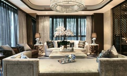 欧式新古典别墅装修设计案例 欧式新古典别墅效果图欣赏