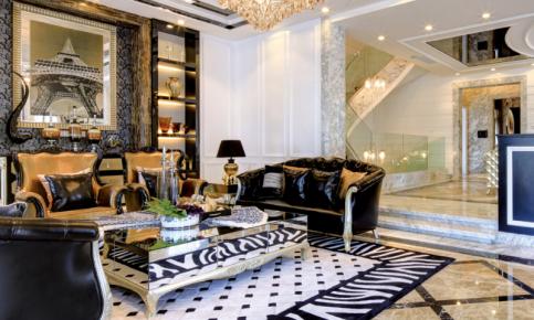 新古典欧式别墅设计案例 新古典欧式别墅效果图欣赏