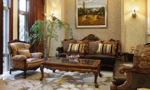 活在画中央 经典欧式别墅室内设计效果图欣赏