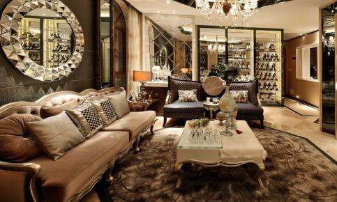 古典欧式别墅装修设计案例 古典欧式别墅效果图欣赏