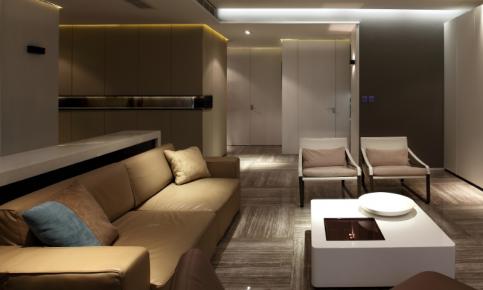 现代简约二居装修设计案例 现代简约二居效果图赏析