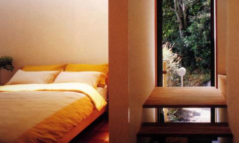 静谧的日式林中小屋装修设计案例 日式小屋效果图欣赏