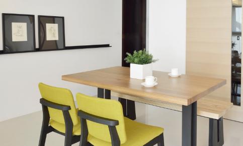 现代简约二居装修设计案例 现代简约二居装修效果图欣赏