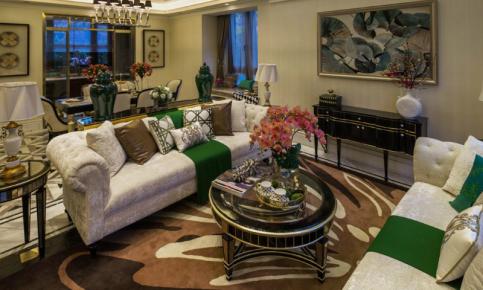 新古典色调的欧式别墅装修设计案例 新古典的欧式别墅效果图欣赏