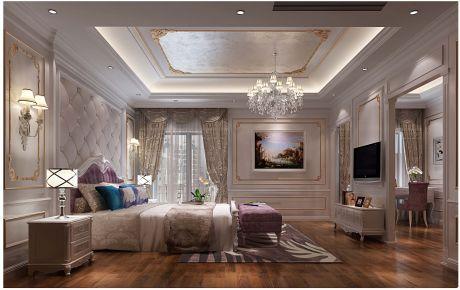 佛山碧桂园现代欧式样板房装修设计效果图