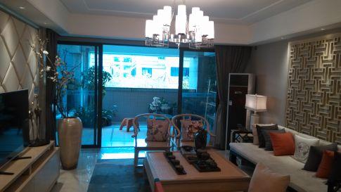 佛山罗马新都 三居室现代样板房装修设计效果图