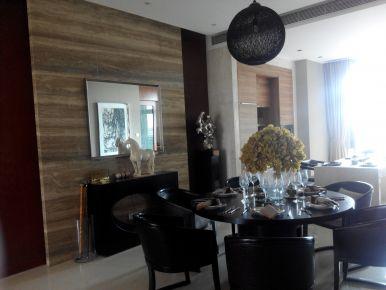 佛山四居室现代风格样板房装修效果图