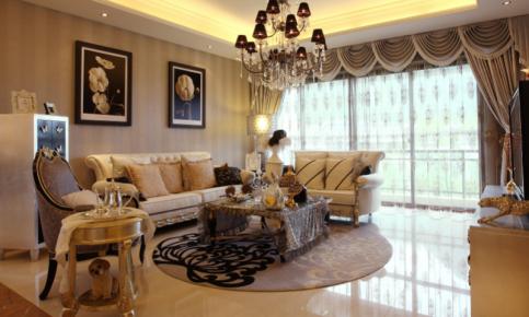 新古典与欧式风格混搭装修 新古典混搭欧式家装效果图欣赏