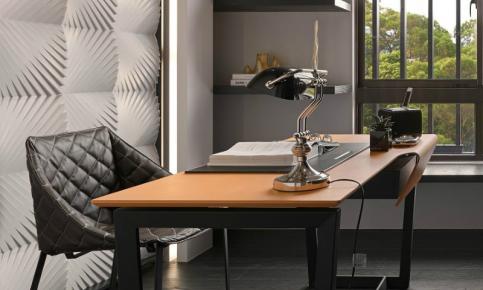 黑色调的家装设计案例 新古典家居效果图赏析