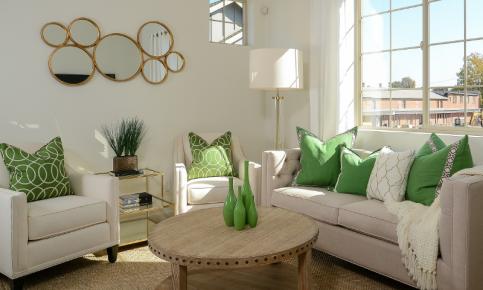 绿色点缀的小清新家装 小清新家装效果图欣赏