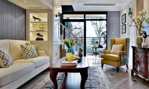 美式现代混搭家居装修设计案例 美式现代混搭效果图欣赏