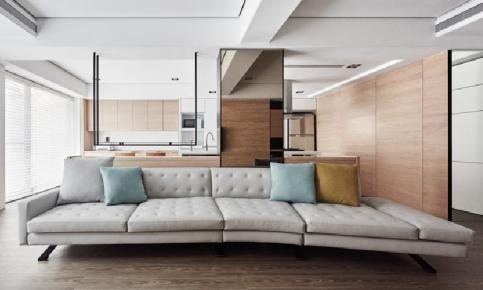 原木打造的小清新风格家装 原木小清新家装效果图赏析