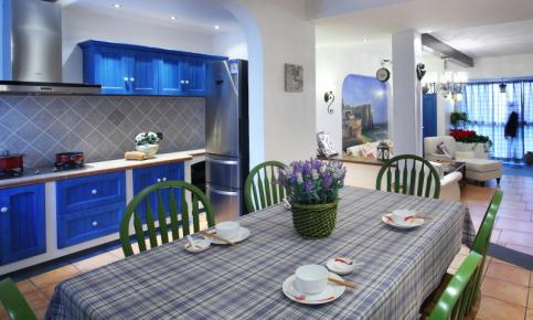 地中海风格新房装修设计案例 地中海风格新房效果图欣赏