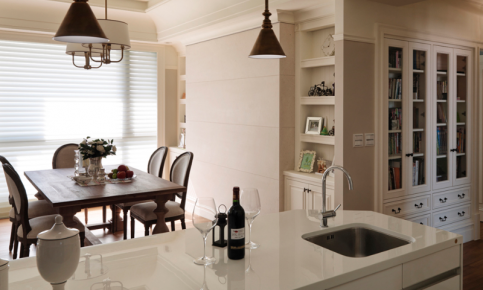 白色调为主的美式风格装修 现代美式风格效果图赏析