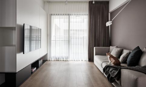 北欧二居室装修设计案例 北欧二居室效果图欣赏