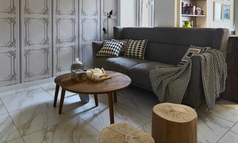 原木元素打造的北欧风情家装 原木风情北欧家装效果图欣赏