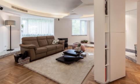 150平暖色调家居装修 150平现代简约效果图欣赏